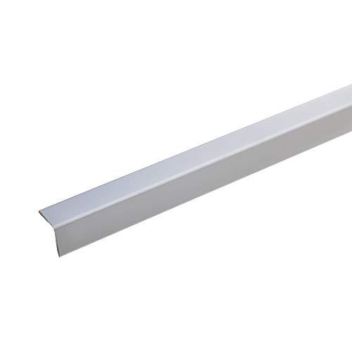 Angolo paraspigoli 25 x 1,9 mm - 100 cm - alluminio - argento a colori - senza punta, -...