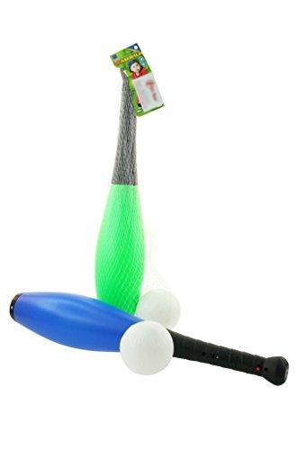 Toi-Toys–Mazza da Baseball Gioco di Palline e di Palloncini, 62060z, Multicolore
