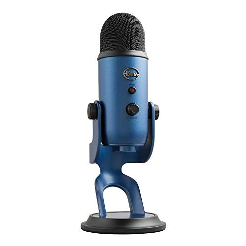 Blue Microphones Yeti Professional Multi-Pattern USB Mic for Recording and Streaming...