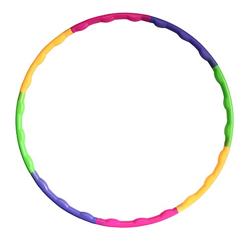 Lemong Hula Hoop per bambini, smontabile, di piccole dimensioni, per sport e divertimento
