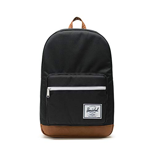 Herschel 10011-00001 Pop Quiz Black/Tan Synthetic Leather
