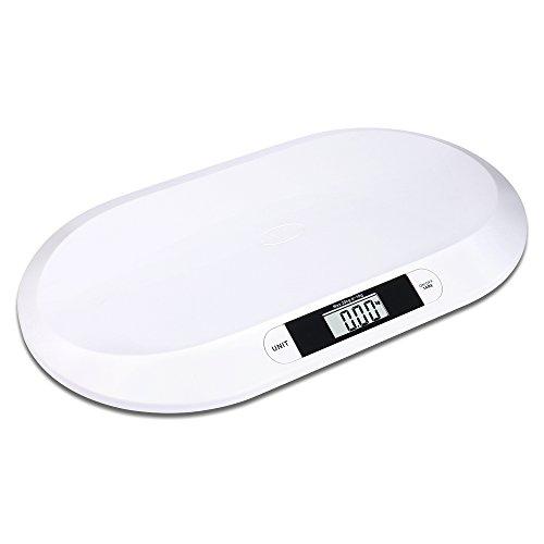 Schramm® Bilancia pesa Bambini Digitale Piatta Fino a 20 kg Bilancia pesa Neonati