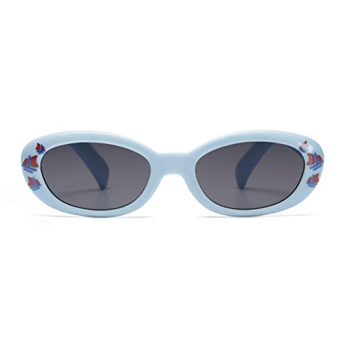 Chicco 00010163100000 Occhiale da Sole, Bimbo 0+ Mesi, Azzurro