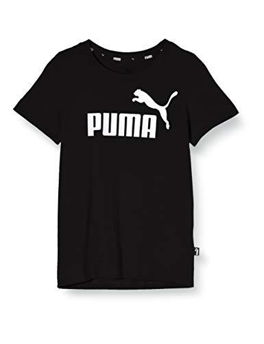 PUMA Essentials B, Maglietta Unisex – Bambini, Nero (Cotone Black), 164