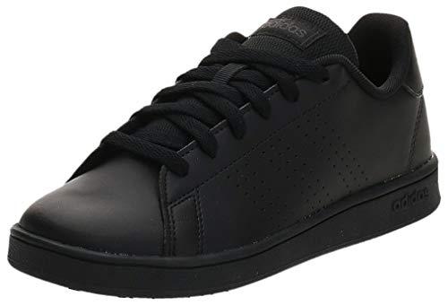 adidas Advantage K, Scarpe da Tennis Unisex-Bambini, Core Black/Core Black/Grey Six, 36...
