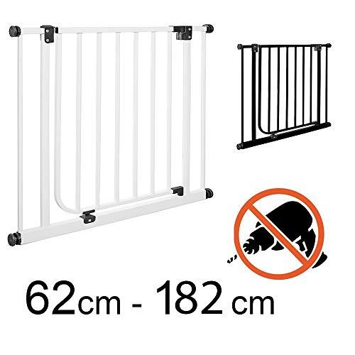 TOM - Cancelletto di Sicurezza | 123-132 cm | Senza perforazione | porta e scale | +20+30