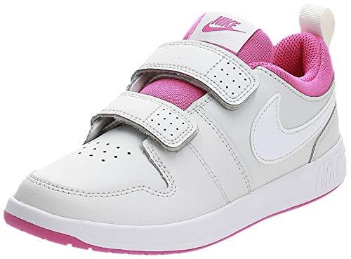 Nike Pico 5 (PSV), Scarpe da Tennis Unisex-Bambini, Platinum Tint/White/Active Fuchsia, 32...