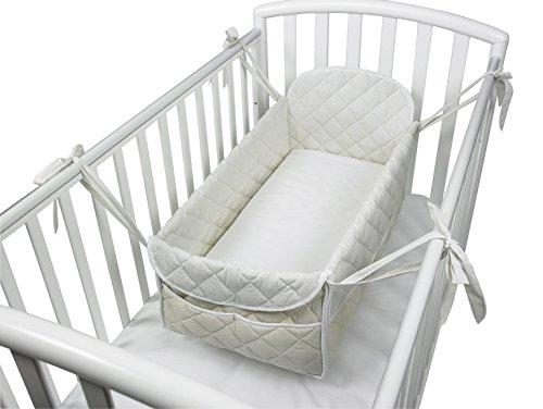 Babysanity - Riduttore paracolpi cilindro per lettino sfoderabile varie forme e misure per...
