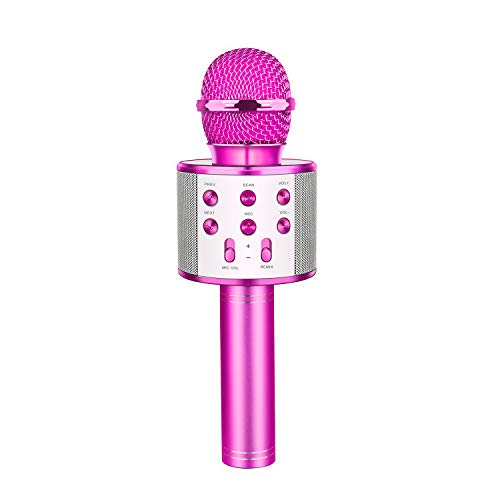 LetsGO toyz Bluetooth Microfono Karaoke per Bambini, Giocattolo Regalo Bambina 4-16 Anni...