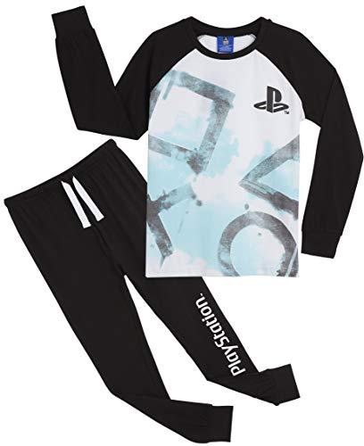 PlayStation Pigiama Ragazzo Cotone Lungo, Pigiami Ragazze 7-15 Anni, Abbigliamento da...