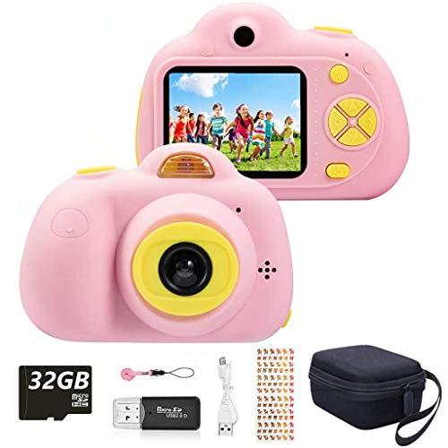 YunLone ToyZoom Macchina Fotografica per Bambini, Bambini Fotocamera Digitale Portatile...
