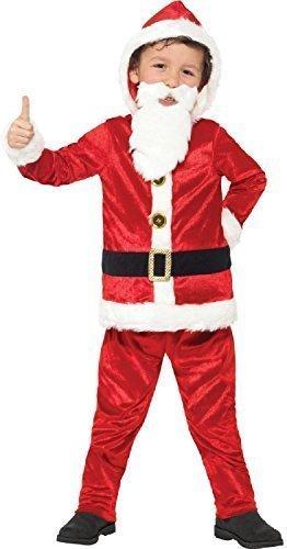 Fancy Me Ragazzi Musical Ho Ho Ho Jolly Babbo Natale Festa di Natale Travestimento Babbo...