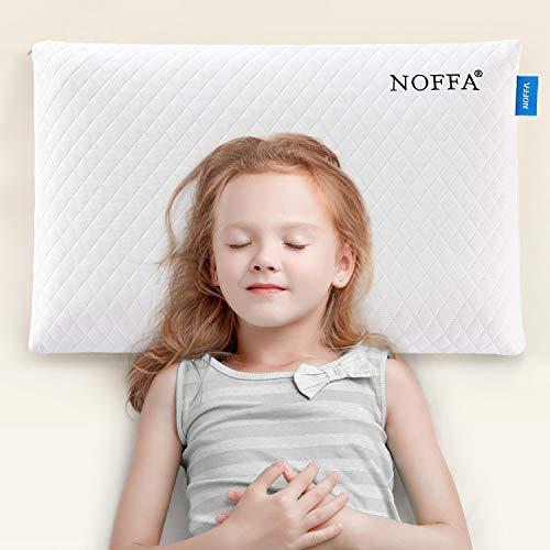 NOFFA Cuscino a basso profilo per adulti, Cuscino Memory Foam per dormiglioni di stomaco,...