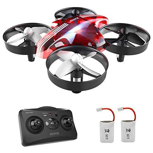 Mini Drone per Bambini e Principianti AT-66 RC Quadcopter Droni Elicottero Giocattolo ,3D...