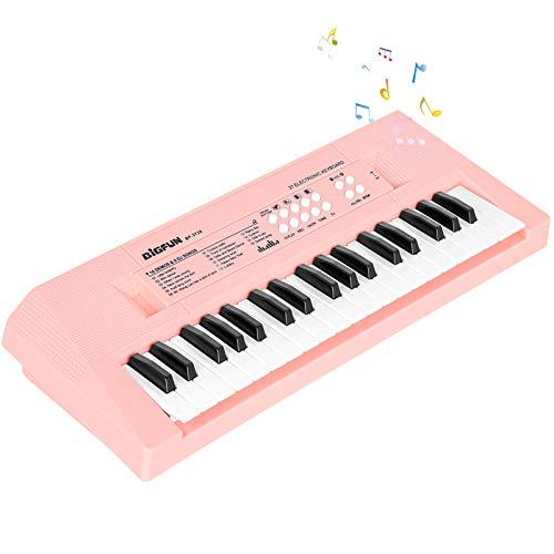 Mini Tastiera Pianoforte per Bambini, 37 Tasti Tastiera Elettronica Musicale Portatile...