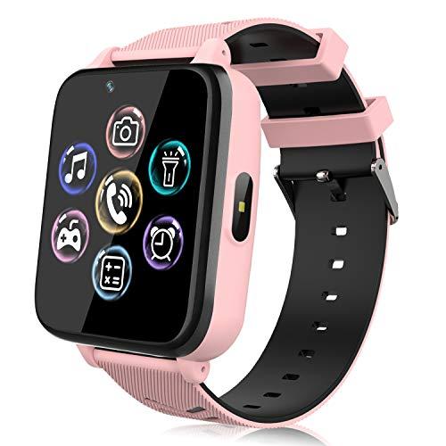 Smartwatch Telefono per Bambini, Orologio Intelligente per Ragazza e Ragazzo Touchscreen...