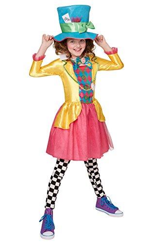Rubie's - Costume da bambina ufficiale Disney, Alice nel Paese delle Meraviglie – 11 –...