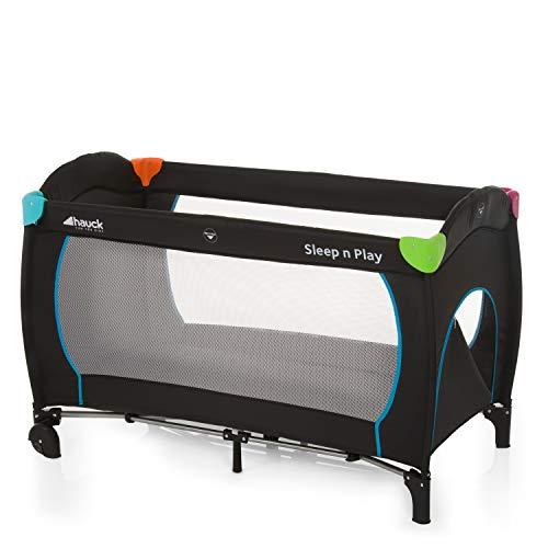 Hauck Sleep N Play Go Plus Lettino da Viaggio, 120 x 60 cm per Neonati e Bambini Fino a 15...