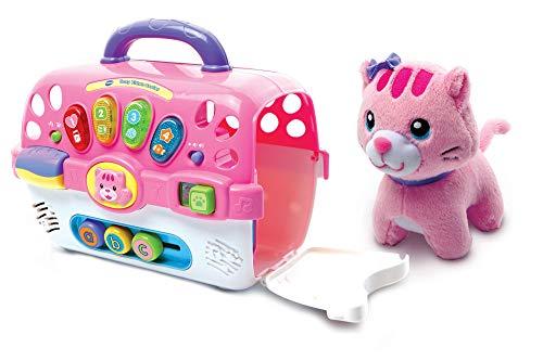 VTech - Giocattolo interattivo per gattini, con animale, giocattolo musicale educativo,...