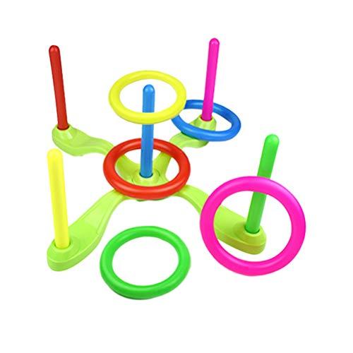 Tomaibaby Gioco di Lancio Dell'anello Set da Lancio del Giocattolo Dell'anello Sviluppa Le...