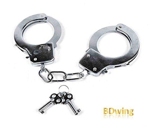 Bdwing Manette in Metallo con Chiavi - Gioco per Bambini Giocattolo della Polizia...