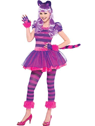 Amscan - Costumi Cat - - 999.450 rosa e viola - 14-16 anni