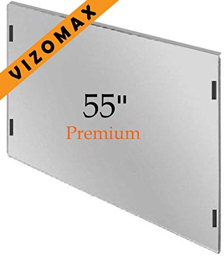 55 pollici Vizomax Protezione Schermo per televisione. Si adatta LCD, LED e Plasma...