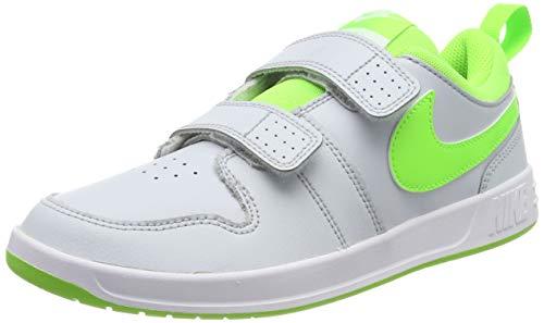 Nike Pico 5 (PSV), Scarpe da Tennis Unisex Bambini, Grigio (Pure Platinum/Electric...
