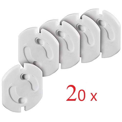 Offgridtec® 20X sicurezza bambini per scarico con meccanismo a rotazione–Presa di...