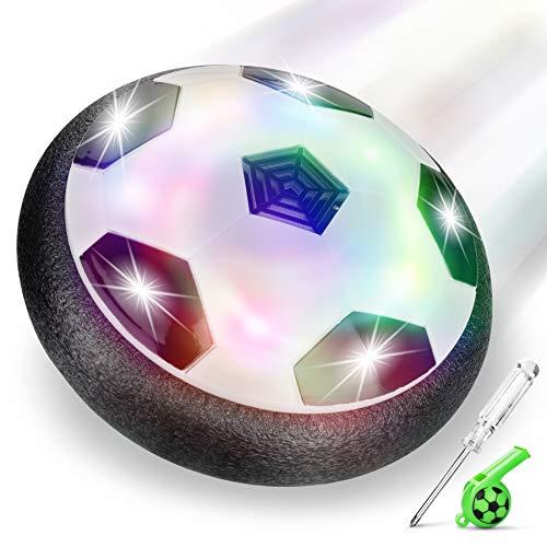lenbest Hover Ball Calcio, Pallone da Calcio da Interno Fluttuante con Luci a LED, Hover...