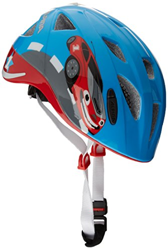 Alpina Casco da bici per bambini Ximo Flash, Bambini, Radhelm Ximo Flash, Red Car, 49-54