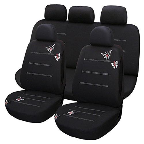 Set Completo di Coprisedili per Auto Macchina Seat Cover Universali Protezione per Sedile...
