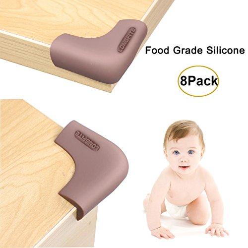 Longfite, paraspigoli e paraspigoli a prova di bambino, in silicone per uso alimentare,...