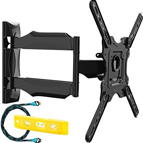 Invision Supporto TV Parete - per 24-55 pollici TV LED LCD, 4K HDR Schermi - Inclinazione...