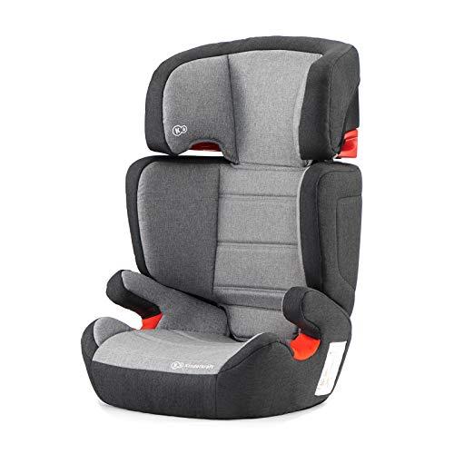 Kinderkraft Seggiolino Auto JUNIOR FIX, con Isofix, Poggiatesta Regolabile, per Bambini,...