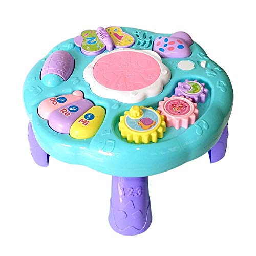 Liteness Multi-Funzione Baby Toys Musical Learning Table 6 Mesi Up-Early Education Music...