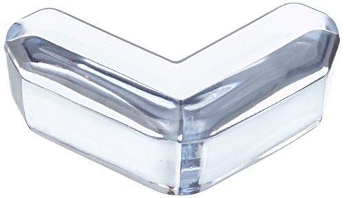 Hartig + Helling 98365 - Angoliera per tavolo in vetro, BS 858, confezione da 4