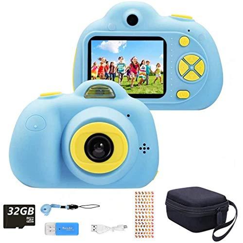 YunLone ToyZoom 1080P HD Bambini Fotocamera Selfie Macchina Fotografica 18MP Videocamera...