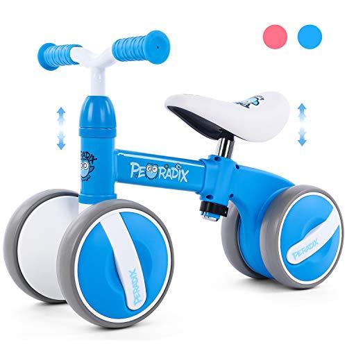 Peradix Bicicletta Equilibrio Bambino 1 Anno,Bicicletta Senza Pedali Bicicletta Giocattoli...