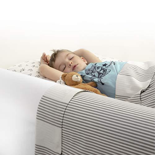 BANBALOO MAX -Barriera di sicurezza letto per bambini - Anticaduta infantile/Parapetto di...