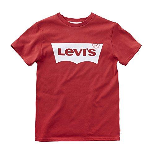 Levi's Nos N91004H T-Shirt per bambini e ragazzi, colore rosso (red), taglia 16 anni