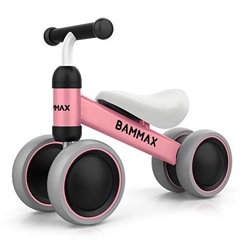 Bammax Bicicletta Senza Pedali, Bicicletta Equilibrio per Bambini 1-2 Anni Triciclo Baby...