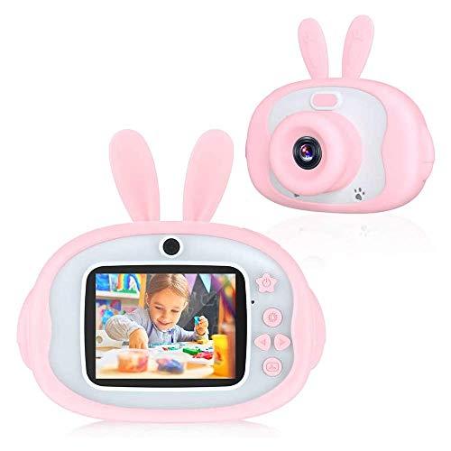 ZXHT Macchina Fotografica per Bambini con 32GB Carta TF Inclusa, 2.4 Pollici LCD, HD...