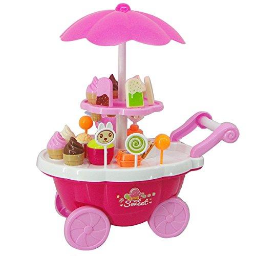 Giocattolo del carrello del gelato dei bambini, Play House Toy, Fai finta di giocare a Toy...