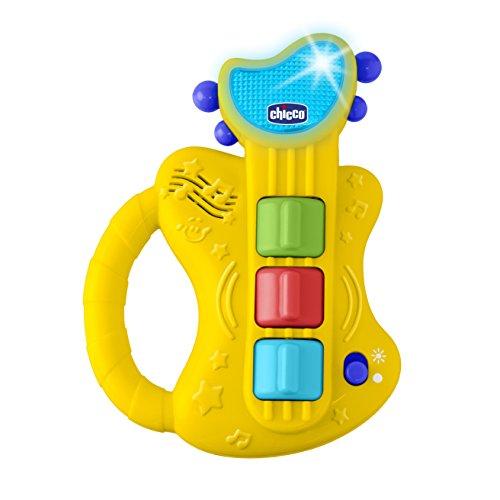 Chicco Gioco Chitarra Musicale, Gioco Elettronico per Bambini con Luci e Suoni, 6-36 Mesi