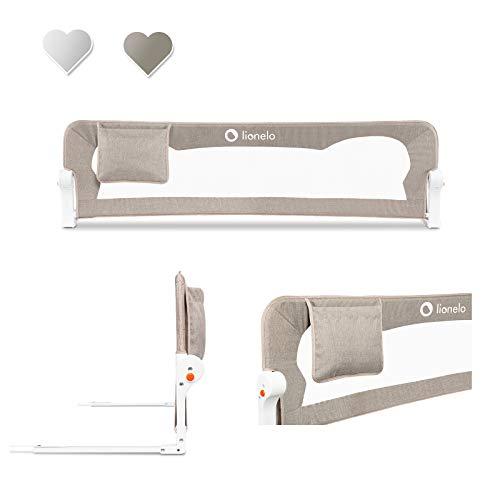 Lionelo Eva sponda letto universale barriera protettiva per letto installazione facile e...