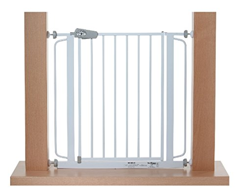 TOM - Cancelletto di Sicurezza | 123-132 cm | Senza perforazione | porta e scale | +20+30