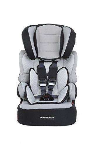Foppapedretti Babyroad Seggiolino Auto, Nero Carbon, Gruppo 1-2-3 (9-36 Kg) per bambini da...