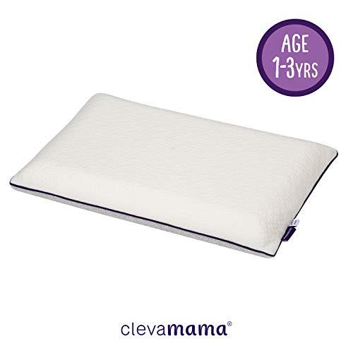 ClevaMama Cuscino Culla in ClevaFoam per Bambini, Guanciale Lettino Antisoffoco, +1 anno