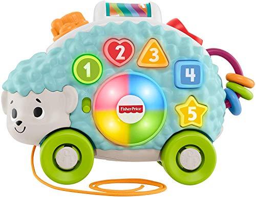 Fisher-Price - Parlamici Baby Riccio Forme e Colori Giocattolo Educativo con Luci, Suoni e...